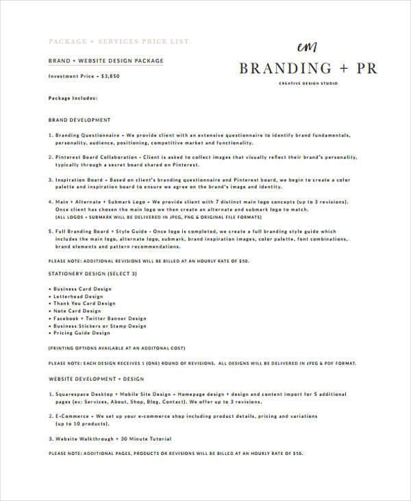 Branding Quotation  CvresumeUnicloudPl