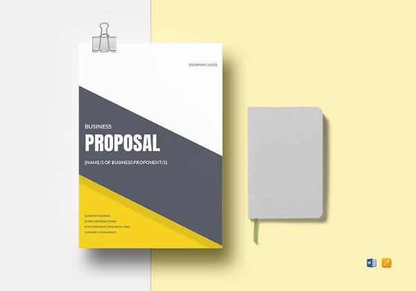 Training Proposal Template - 18+ Examples in Word, PDF