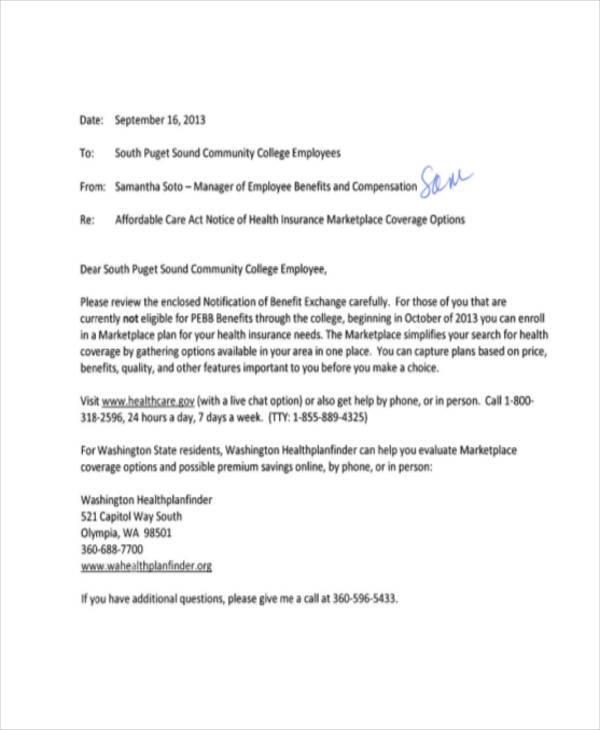 9 Notice Memo - Free Sample, Example, Format Download