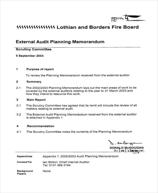 5+ External Memo Templates \u2013 Examples in Word, PDF Sample Templates