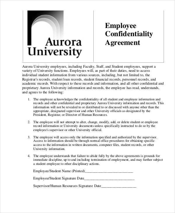 hr confidentiality agreements cvresumeunicloudpl - contractor confidentiality agreement
