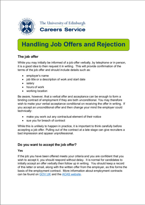 Politely Turning Down A Job Offer Decline A Job Interview, How To - politely turning down a job offer