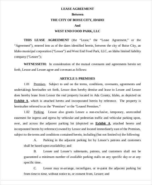 food truck rental agreements - 28 images - truck lease agreement - commercial truck lease agreement