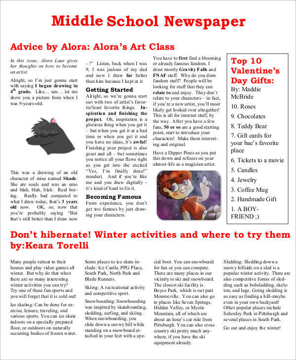 html newspaper template free download