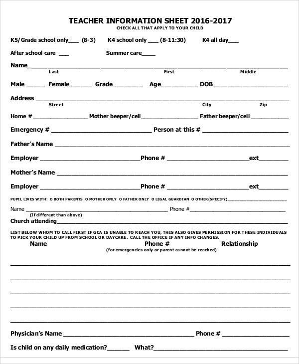Information Sheet Sample Sample Fact Sheet Sample Fact Sheet - fax sheet example