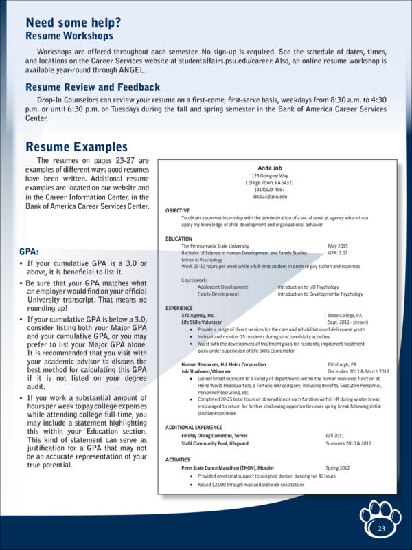 5 Things an Employer Wants to See on Your Resume Sample Templates