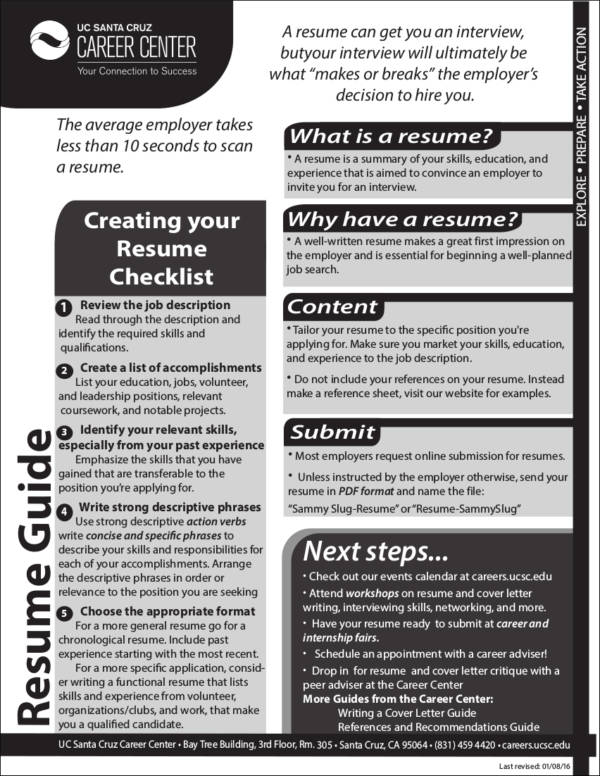 Tips for Making Your Thin Resume Presentable Sample Templates