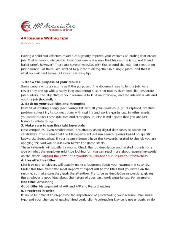Easy Steps To Resume Writing easy steps to writing a cover letter
