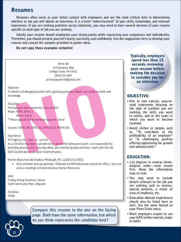 Avoiding First Resume Mistakes Deadly Resume Mistakes To Avoid At - avoiding first resume mistakes