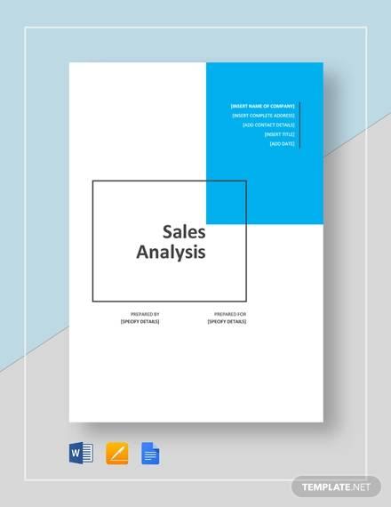 5+ Sales Analysis - Free Sample, Example, Format Download