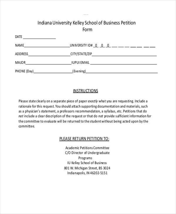 6+ Business Petition - Free Sample, Example, Format Download - how to research your cause for writing the petition