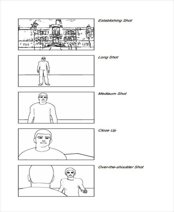 Storyboard Sample Film Storyboard Sample Sample Free Storyboard - vertical storyboard