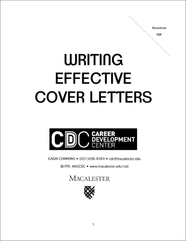 Quick Tips to a Standout Cover Letter Sample Templates