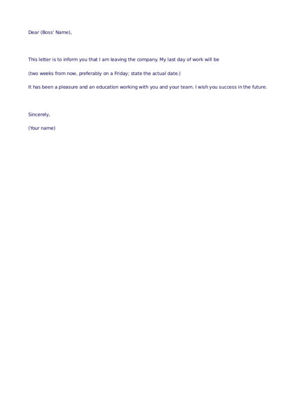 Quick Tips Writing Resignation Letters Friendly Sample - resignation letter format tips
