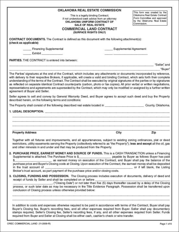 Basics of Land Contracts How It Works Sample Templates - land contract basics