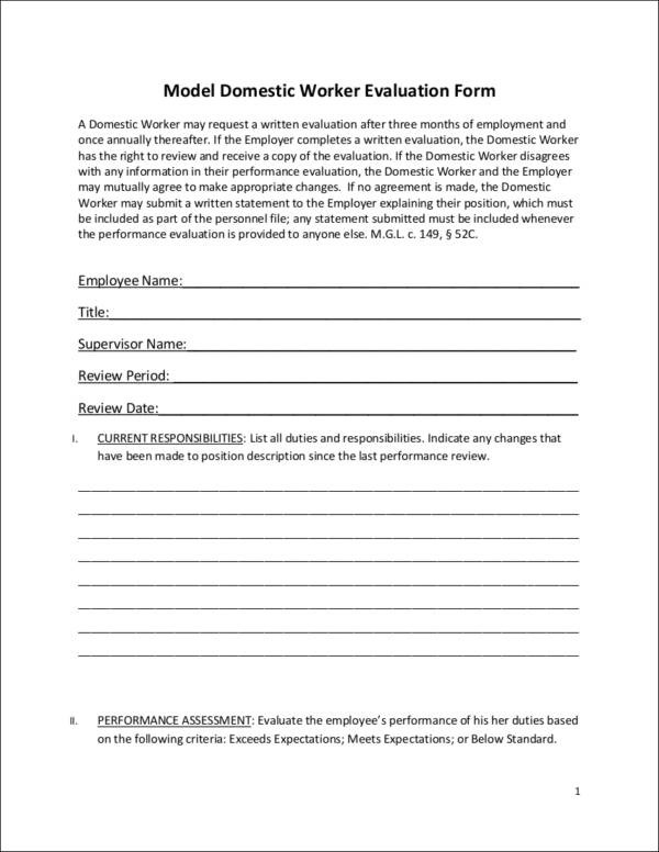 How to Conduct Employee Evaluations Samples and Templates - conduct employee evaluations