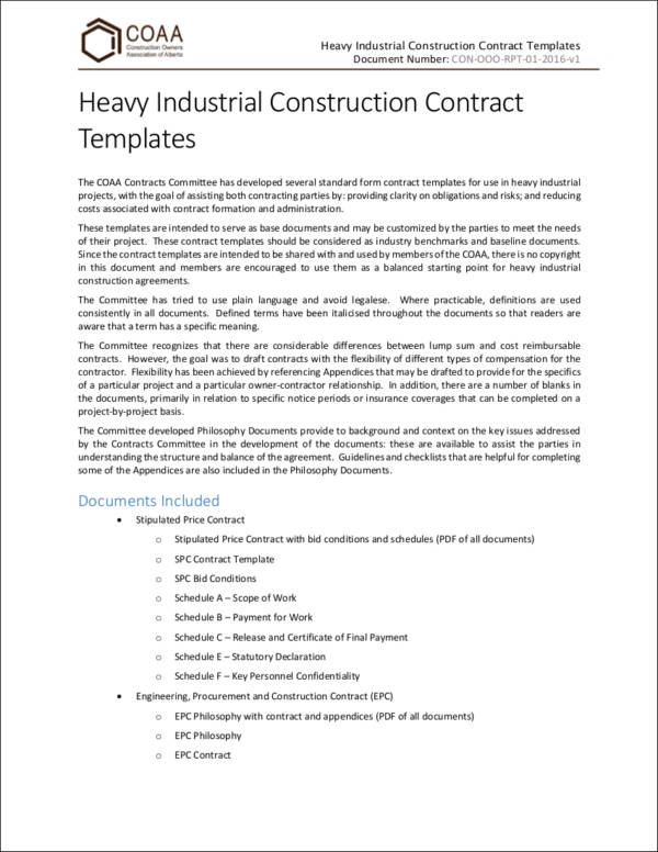 Important Elements of a Contract 10 Contract Samples in PDF - contract important elements