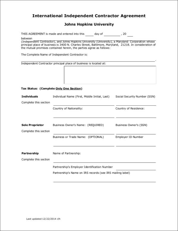 Employee vs Independent Contractor Differences 10 Samples in PDF - differences employee independent contractor