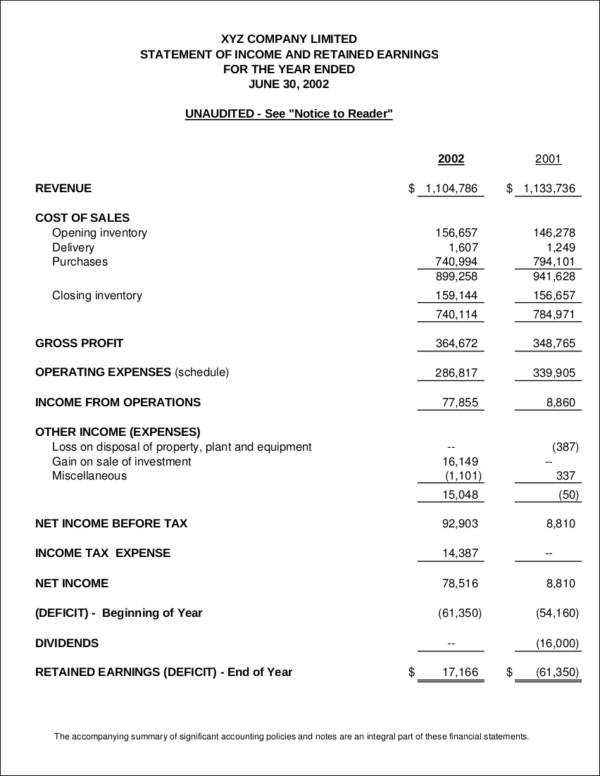 income statement inclusions - Teacheng - income statement inclusions