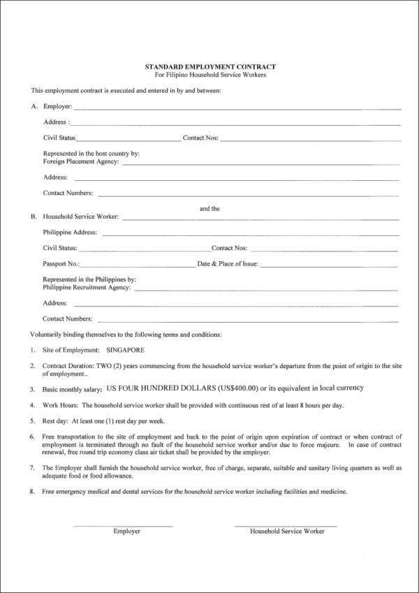 standard employment agreement - Basilosaur - dentist employment agreement