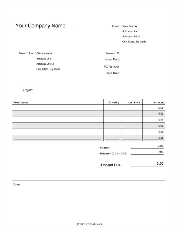 Elements That You Need to Include in Your Invoice - essential invoice elements
