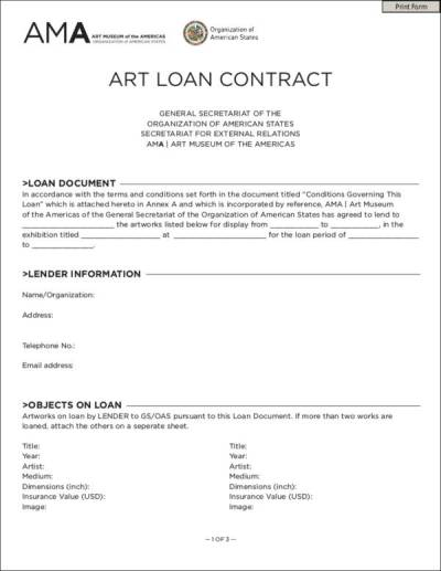 10 Loan Contract Templates in PDF