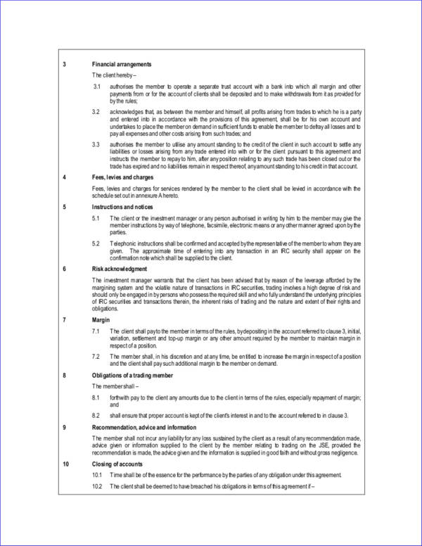 16+ Management Contract Templates - Free Word, PDF Format Download - investment management agreement