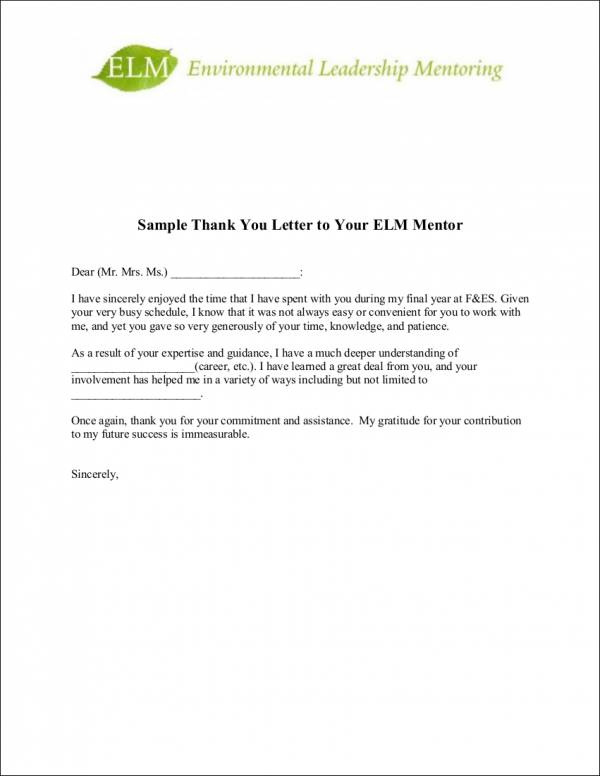 9+ Sample Thank-You Letter Templates to Boss - Free PDF Format Download