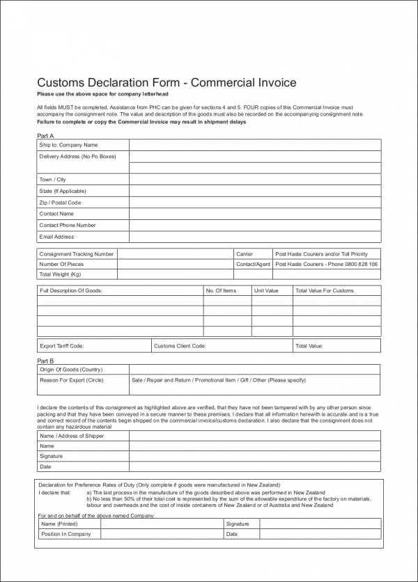 Consignment Invoice Template - Eliolera - consignment form template