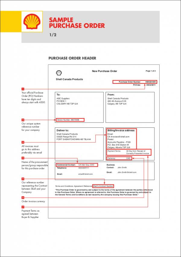 8+ Purchase Order Letter Samples and Templates \u2013 PDF Sample Templates