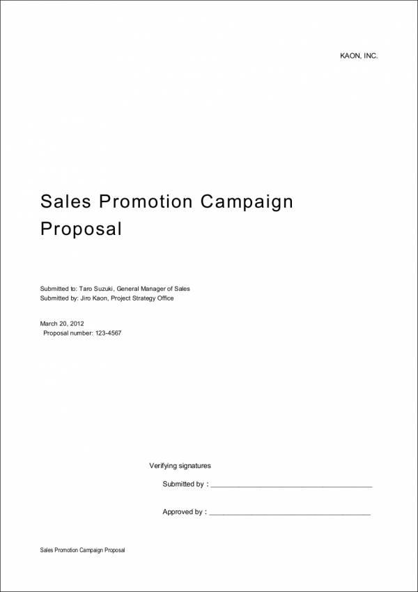 8+ Sales Proposal Samples  Templates - Free PSD, PDF Format Download - sales proposal template