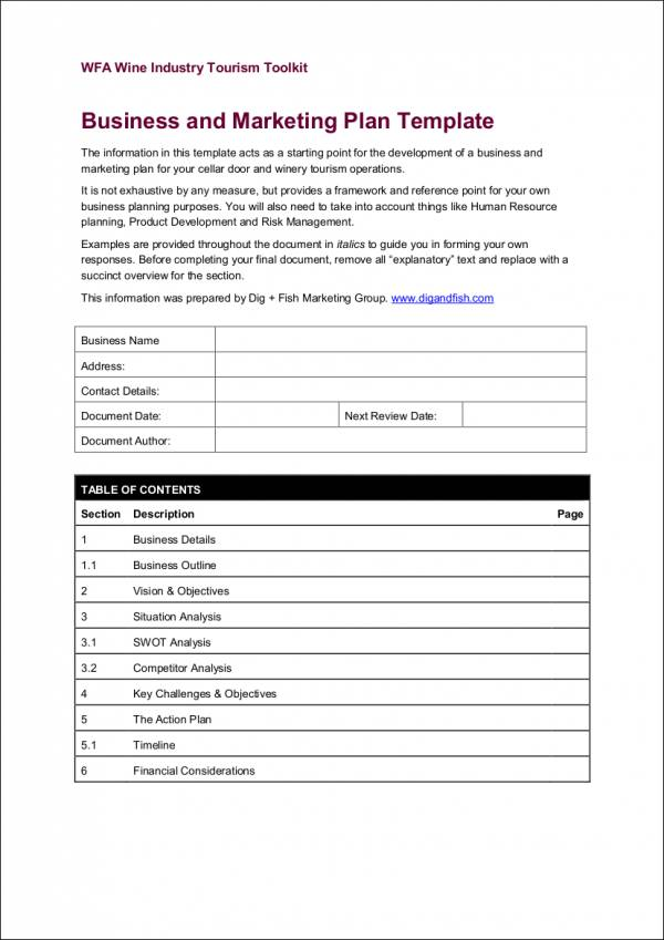 Simple marketing plan template eliolera business marketing sample email marketing template good career pronofoot35fo Image collections