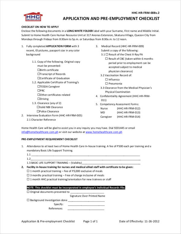 employment clearance certificate sample - Militarybralicious