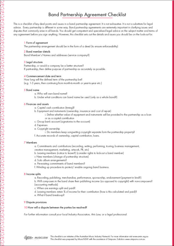 marketing partnership agreement - Minimfagency