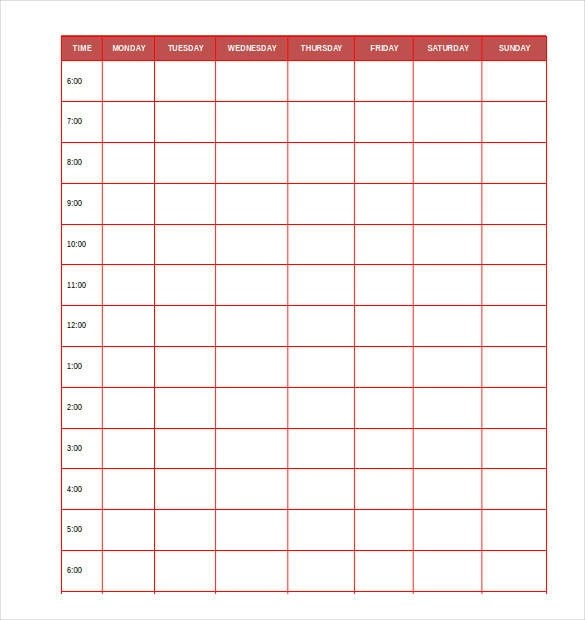 9+ Personal Planner Samples and Templates \u2013 PDF, Excel Sample