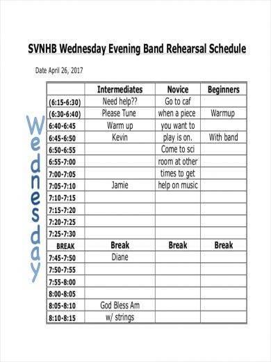 schedule a job interview