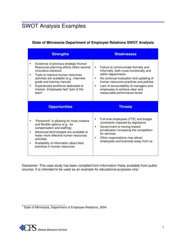 10+ Restaurant Swot Analysis Samples and Templates - PDF, Word