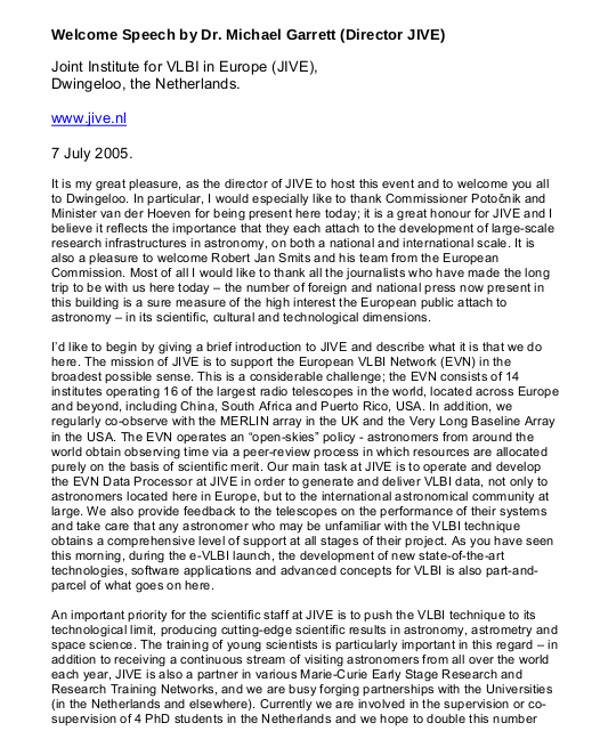8+ Welcome Speech Examples - PDF, DOCexample speech catg persuasive