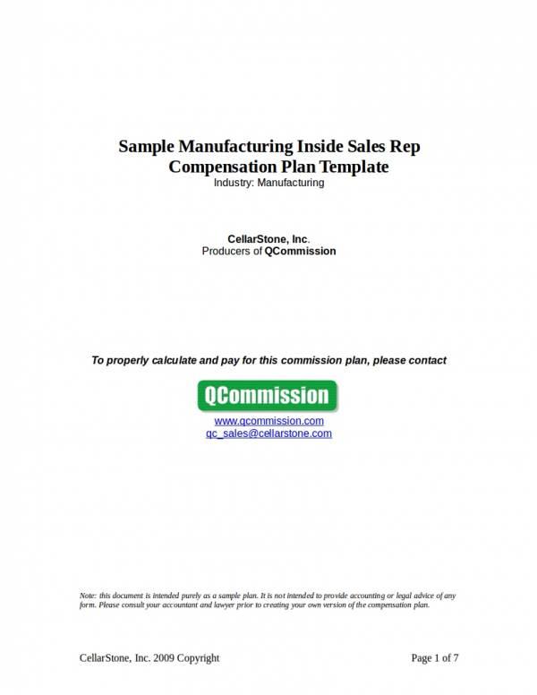 commission plan template - Pinarkubkireklamowe