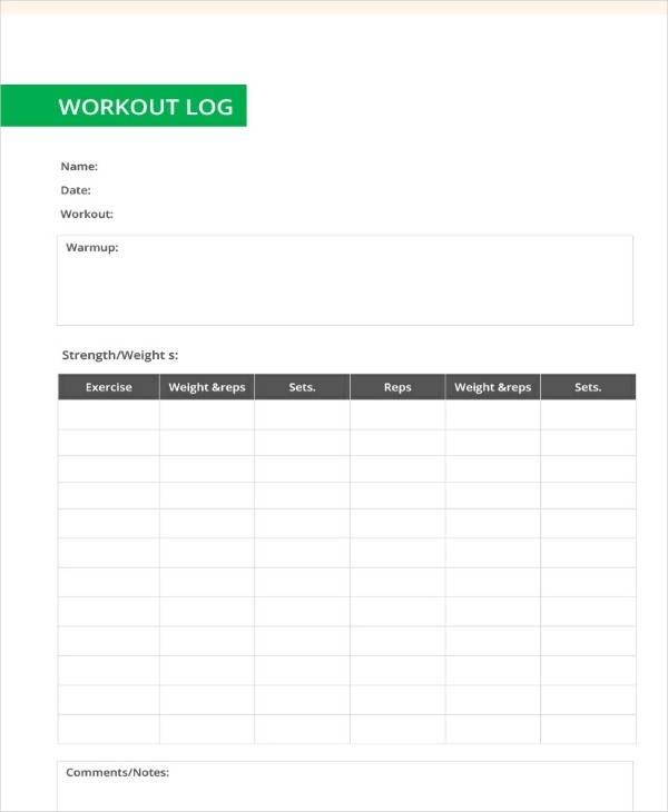 30+ Sample Log Template - Documents in PDF , Word , Excel