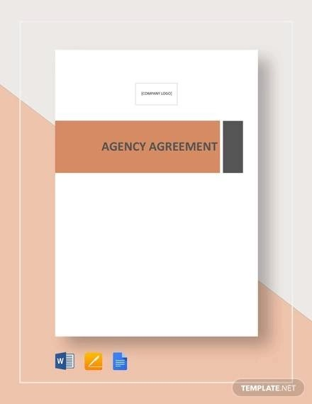 8+ Business Agency Agreements - Word, PDF, Pages