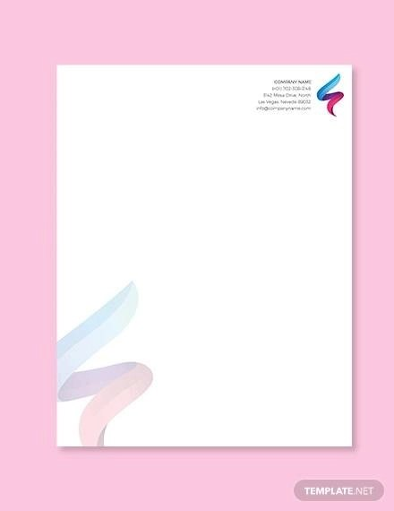 Sample Company Letterhead Template - 53+ Download in PSD, AI