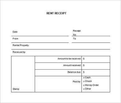 How to Create a Car Rental Receipt 5+ Samples