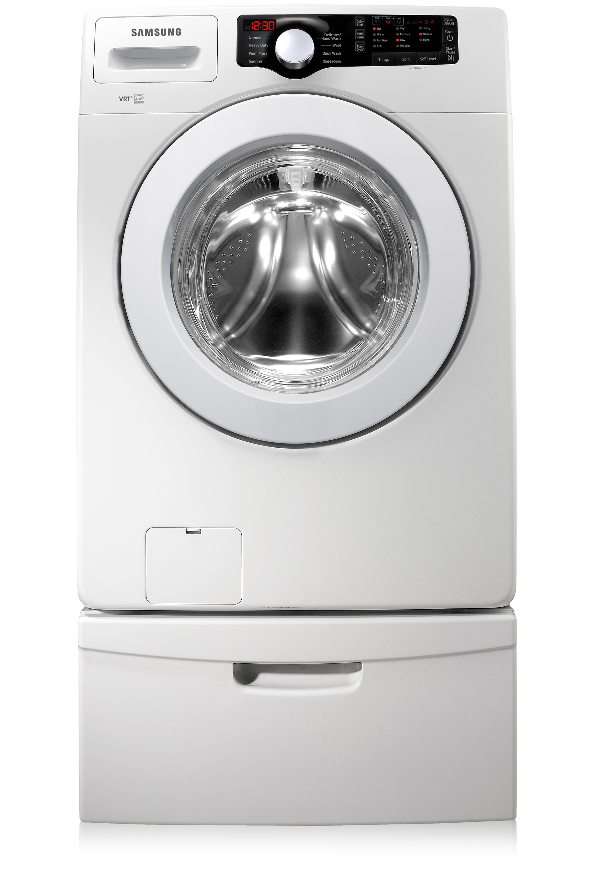 Samsung Front Load Washer Wf361bvbewr 4 1 Cu Ft Large Capacity Front Load Washer White