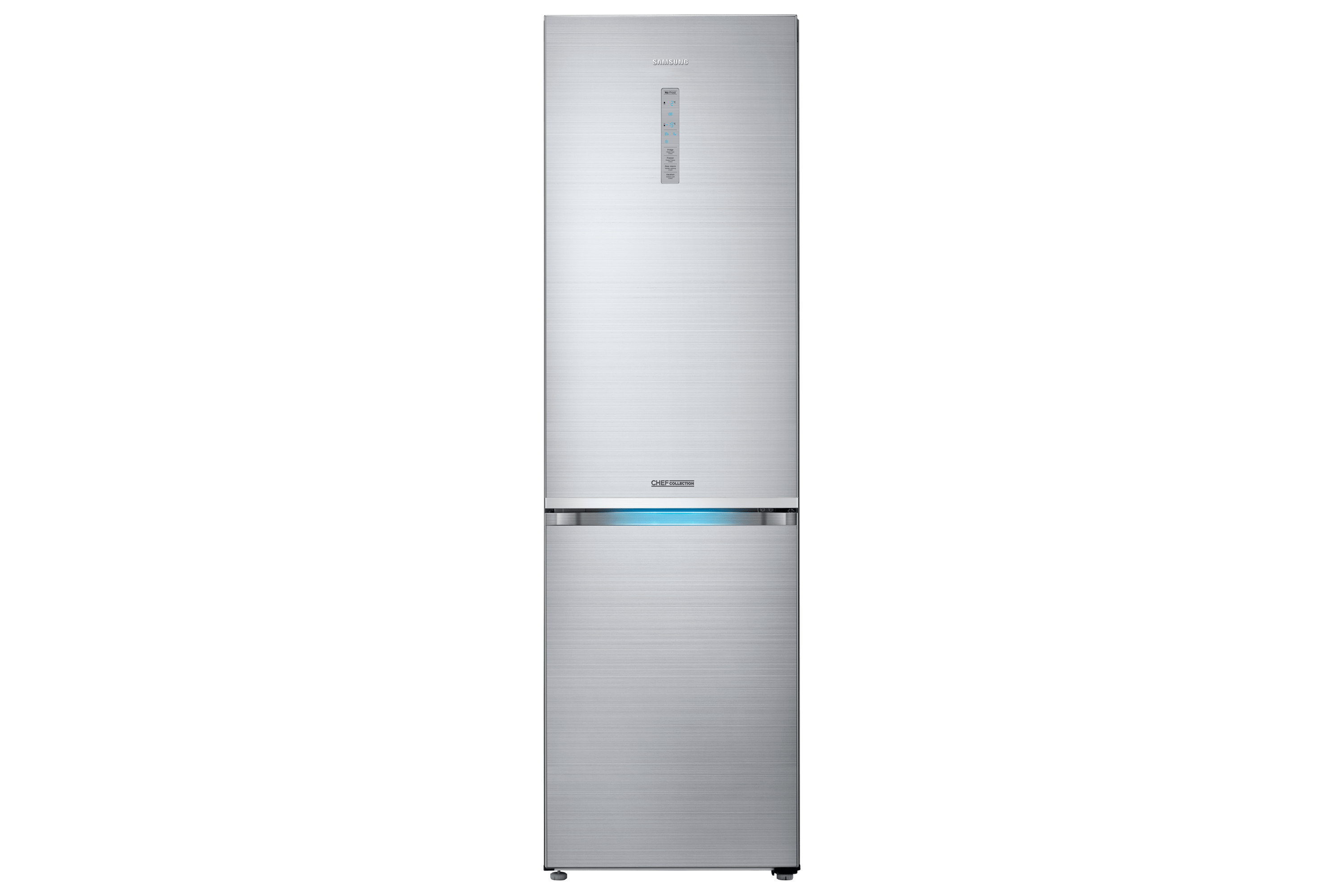 Frigo Samsung 1 Porte Inox Combiné 406l Chef Collection Rb41j7859s4 Silver Samsung Fr