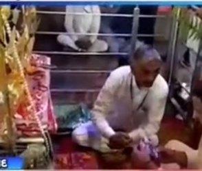 Video : રાહુલ ગાંધીએ રાણેસરમાં આવેલા મોગલ મંદિરમાં કર્યા દર્શન