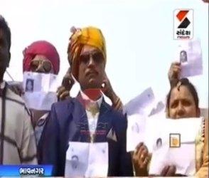 Video : ભાવનગરના વરરાજાએ જાન કન્યાના ઘરે નહીં પરંતુ મતદાન મથકે વાળી