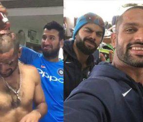 ભારતીય ટીમના ડ્રેસિંગ રૂમમાં ધમાચકડી, ખેલાડીઓ પર કેક અને સોસનો લેપ, જાણો પ્રસંગ