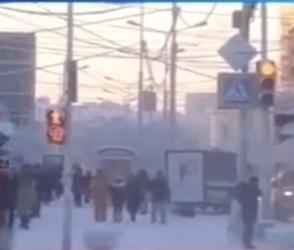 Video : દુનિયાની સૌથી ઠંડી જગ્યા છે જ્યાં પાણી ફેકો તો થઇ જાય છે બરફ