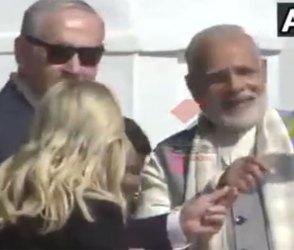 Video : PM મોદી સાથે ઇઝરાયલના PM નેતન્યાહૂએ પતંગ ચગાવ્યો